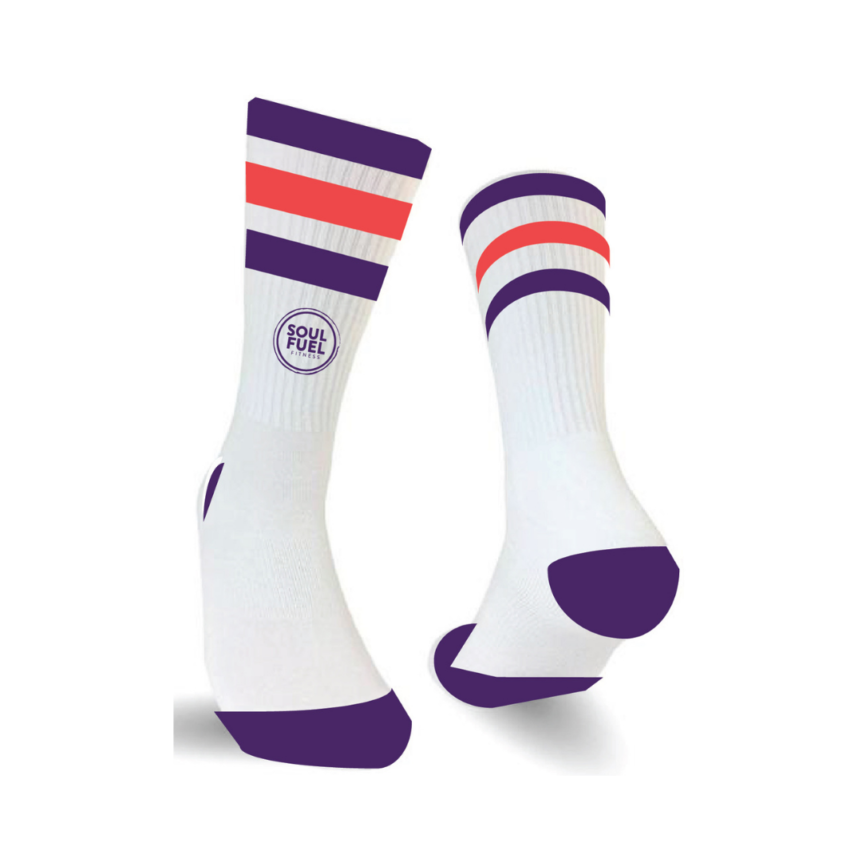 SOUL FUEL Branded Retro Sport Socks