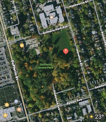 Dufferin Grove Meeting Location