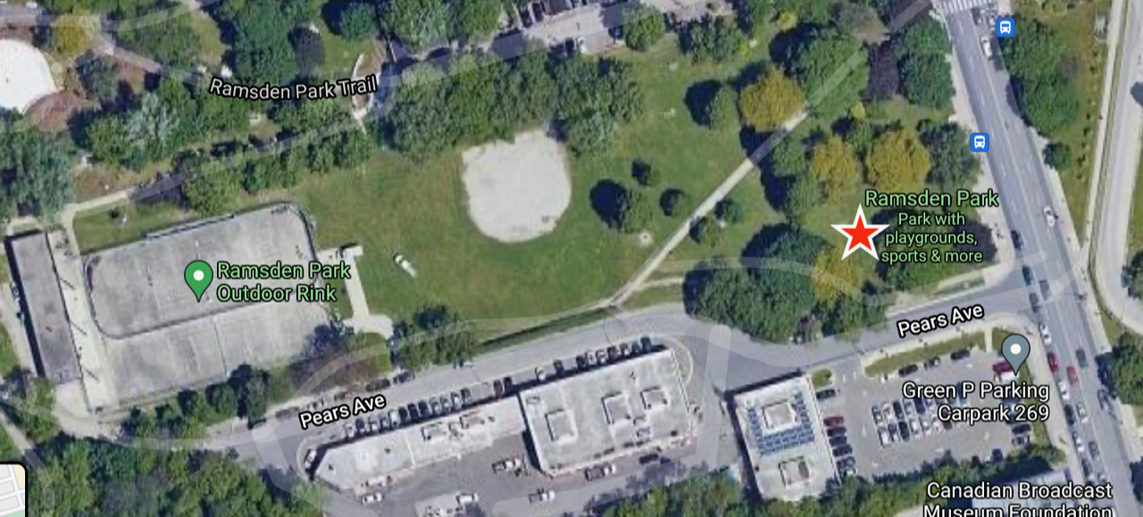 Ramsden Park Meeting Location