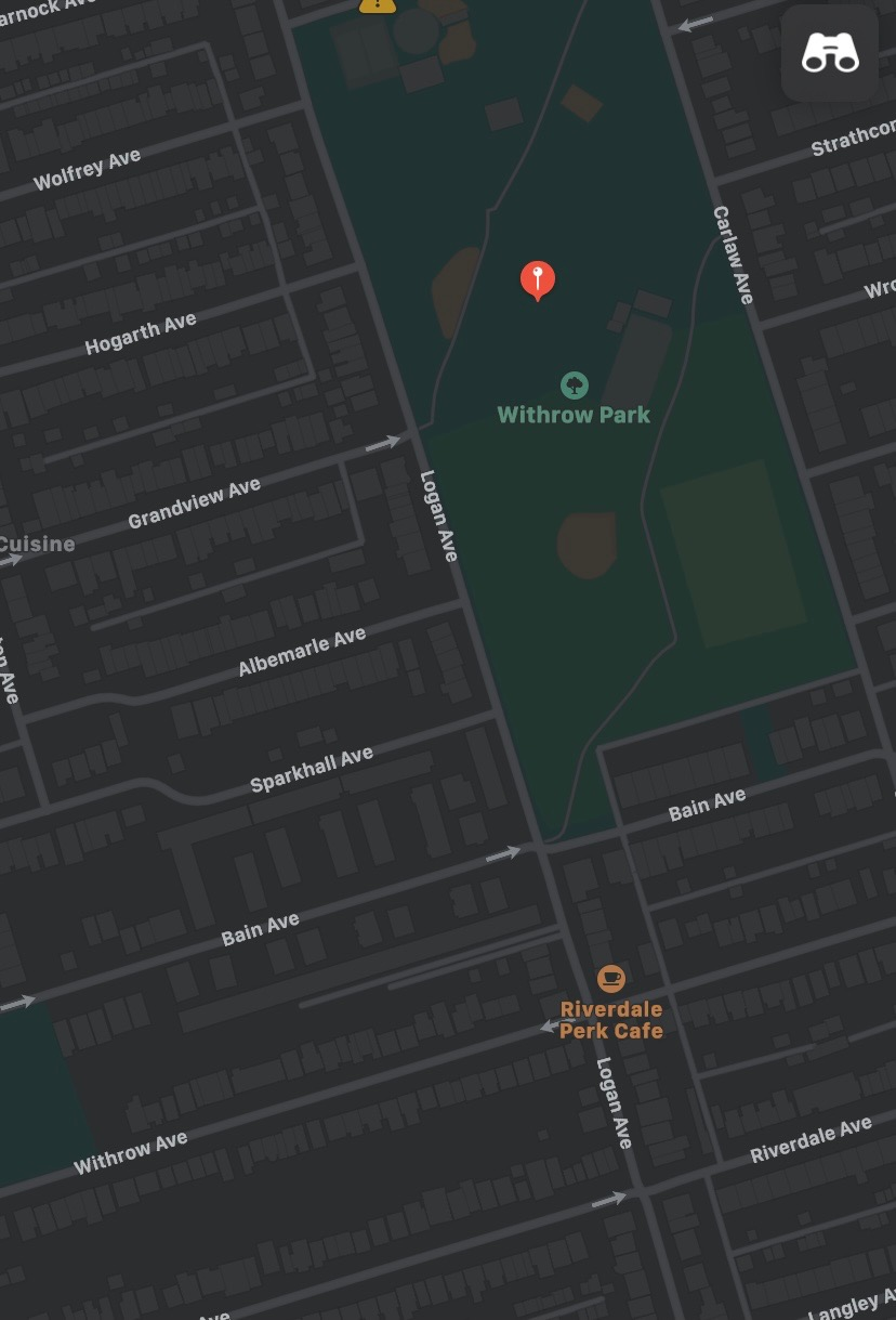 Withrow Park Meeting Location